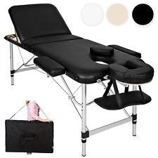 Table Banc Lit de massage pliante Cosmetique en Aluminium esthetique + sac