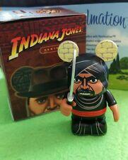 "DISNEY VINYLMATION Park 3"" Indiana Jones Set 1 - Cairo Swordsman with Box"
