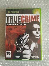 TRUE CRIME STREETS OF LA XBOX NEW PAL IT NUEVO RARE MICROSOFT
