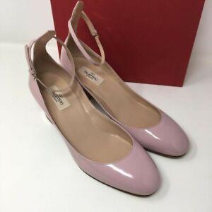 VALENTINO GARAVANI Tango Leather Pumps - Pink - UK 7/EU 40, UK 7.5/EU 40.5