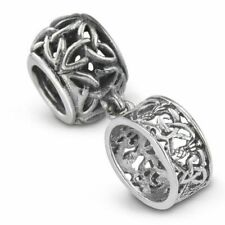 Outlander Inspired Silver Thistle Ring Bead Charm