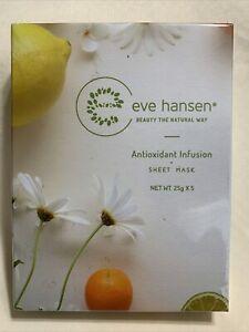 Antioxidant Face Mask Set by Eve Hansen. Repair Sun Damage and Improve Skin