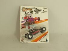 Vintage 1987 Grippers Sprint Bandits #5 Roll Back Race Car NOS