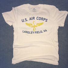 WWII U. S. Army Air Corps Langley VA Repro T Shirt Spec Tag Mens sz S - XL