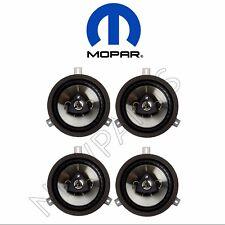 Chrysler Jeep Wrangler Dodge Nitro 6.5inch Kicker Speaker Upgrade Set of 4 Mopar