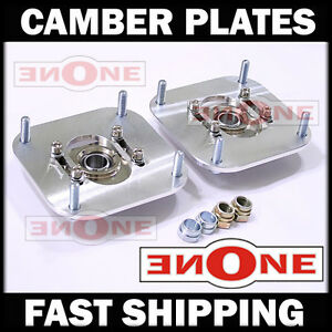 MK1 Adjustable Camber Plates 80 81 82 83 84 85 RX7 Strut Mounts For Coilover Kit