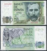 "1000 pesetas año 1979 Benito Perez Galdos ""SIN SERIE"" SC /  SPAIN Pick 158 - UNC"