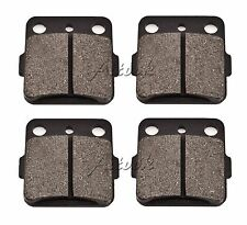 SYUU Motorcycle Replacement Front and Rear Brake Pads Brakes for YAMAHA YFM660 YFM 660 FWAP 4x4 Grizzly 2002 2003 2004 2005 2006 2007 2008 FA084F FA344R