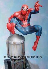 BOWEN DESIGNS #02/1000 MIB SPIDER-MAN CLASSIC ACTION STATUE Sideshow bust MARVEL