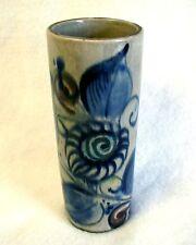Handcrafted Vase TONALA Jalisco Mexico ARTIST SIGNED