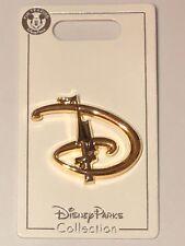 Walt Disney World D Letter Logo Cinderella Castle Turret Pin BRAND NEW CUTE