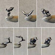 Resin 1 Hood Ornament Flying Goddess Angry Rubber Duck Mack Bulldog Bull Horns