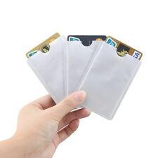 3 Custodia x Porta CARTA DI CREDITO e BANCOMAT in Alluminio Schermato - RFID