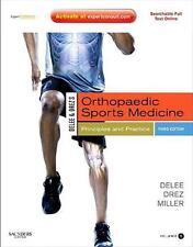 DeLee Drez and Miller's Orthopaedic Sports Medicine 2-Volume Set by Miller