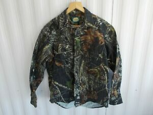 CABELA'S  Mossy Oak Break Up Camo Men's Long Sleeve Hunting Shirt  size M