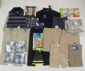 Boys 22 Piece Clothing Set - Size: 4/7 - New with Tags