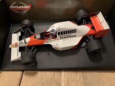 Minichamps 1/18 - F1 Mclaren Honda MP4-5B G. Berger #28 P.M.A TOP
