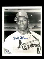 Bob Gibson PSA DNA Coa Hand Signed 8x10 Photo Cardinals Autograph