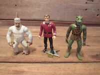 "Vintage LOT 1990 Playmate Toys 5"" Star Trek Action Figures"