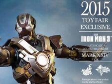 HOT TOYS - IRON MAN MARK XXIV : Tank:   MMS303 NEW (Brown Box Sealed).