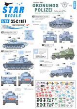 Star Decals 1/35 GERMAN WWII ORDNUNGS POLIZEI Part 2 Tanks & AFVs