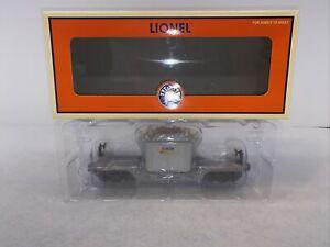 Lionel 6-52365 NLOE Long Island LIRR Flatcar w Lilco Transformer New O Gauge