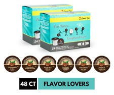 Flavor Lovers Coffee Variety Pack, 48 Ct K Cup Pods for Keurig Brewers