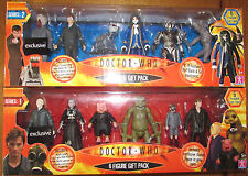 Doctor Who Series 1 & 2 Woolworths Exclusive - 6 Figure Gift Packs - New - Rare}