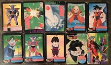 Lot Cartes Dragon Ball Z Candy Card 10 Cards BANDAI