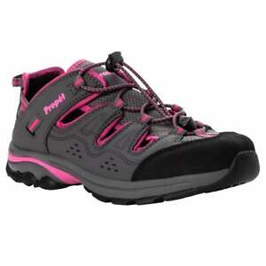 Propet Piper Hiking  Womens Hiking Sneakers Shoes Casual   - Grey