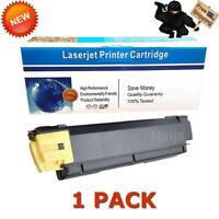 1PK Compatible TK-592Y Yellow Toner Cartridge For Kyocera Mita FS-C2026 FS-C2126