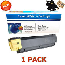1PK Compatible TK-592Y Yellow Toner Cartridge For Kyocera Mita FS-C2026 FS-C2126