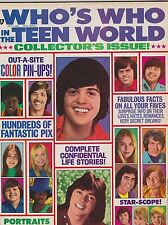 1973 #7 WHOS WHO IN THE TEEN WORLD vintage movie magazine
