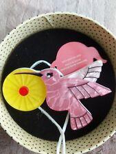 Erstwilder The Humble Hummingbird Brooch Pin