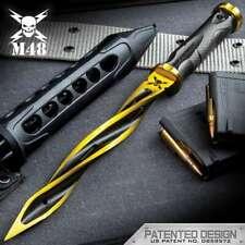 M48 Cyclone Limited Solar Flare Combat Tri Dagger Knife Spike Uc3163Gla 2Cr13