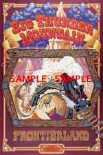 Vintage Disney 1987 ( Big Thunder Mountain Railroad ) Collector's Print - B2G1F