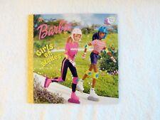 Golden Storybook Amazing Athletes Series BARBIE: Girls on Blades PB 2000 V Good