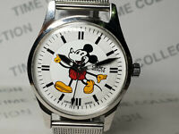 Vintage Camy Mickey Mouse Dial Mens Mechanical Handwinding Wrist Watch OG641 Z