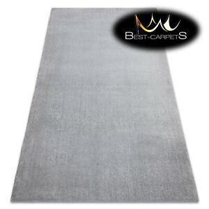 Modern original washing RUG LATIO silver practical soft Carpet easy to wash