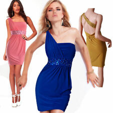 One Shoulder Stretch Party/Cocktail Dresses for Women