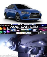 Mitsubishi Lancer CJ Sedan Hatch Bright White LED Interior Light bulb globe Kit