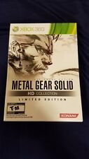 Metal Gear Solid HD Collection Limited Edition Xbox 360 Spiel & Technik Buch