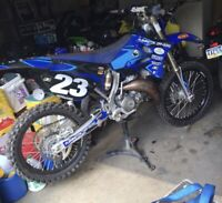 2002-2014 Yamaha Yz 125 Yz 250 Plastic Kit With Air Box