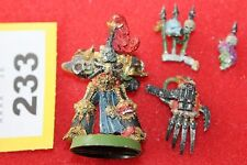Games Workshop WARHAMMER 40k Space Marine del Caos Abaddon il bit di metallo despoiler