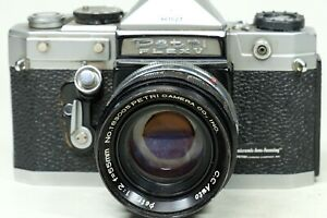 Petriflex with 55mm f2 LENS PlEASE READ