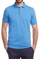 HUGO BOSS POLO SHIRTS- Comfort Fit piqué, Ferrara  50118984 Size:L BLUE