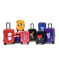 """OFFICIAL BT21 LUGGAGE BASIC 20"""" & 24"""" by MONOPOLY LINEFRIENDS, AUTHENTIC BTS"""