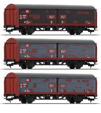 Fleischmann 533709 H0 Schiebewandwagen Bauart Hbis 3er-Set ++ NEU & OVP ++