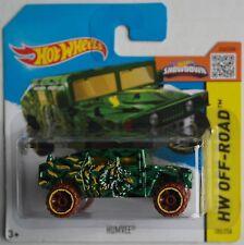 Hot Wheels - Hummer / Humvee grünmet. Neu/OVP