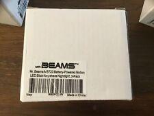 Mr. Beams Battery Powered Motion Sensor Lights (3 pack)